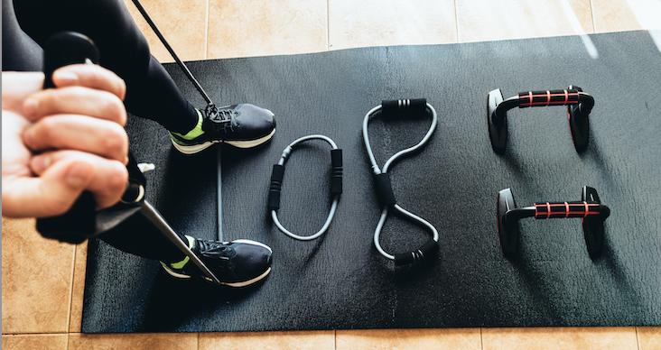 Les accessoires indispensables pour faire du sport chez soi